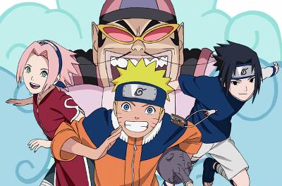 Наруто, Джинн и три желания, даттебайо / Gekijouban Naruto Soyokazeden: Naruto to Mashin to Mitsu no Onegai Dattebayo!!
