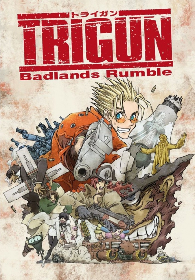 Триган - Буря в Пустыне / Trigun: Badlands Rumble